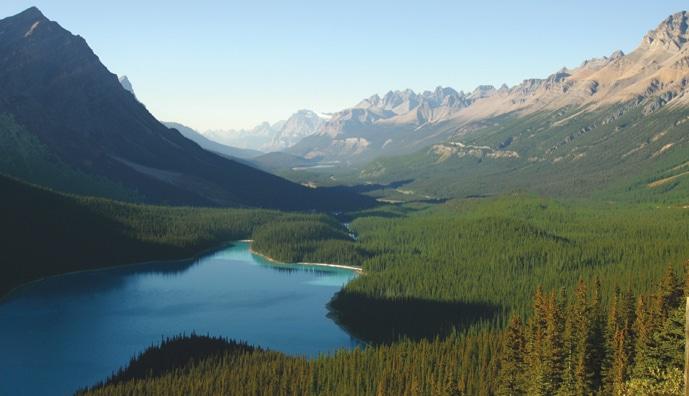מערב קנדה אגם פאייטו