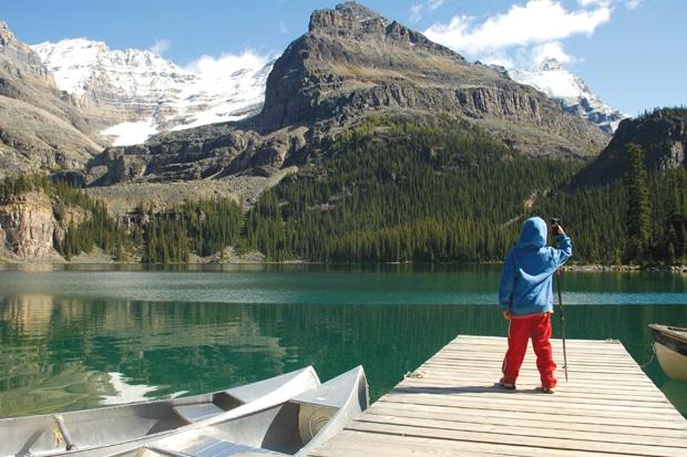 מערב קנדה אגם אוהרה