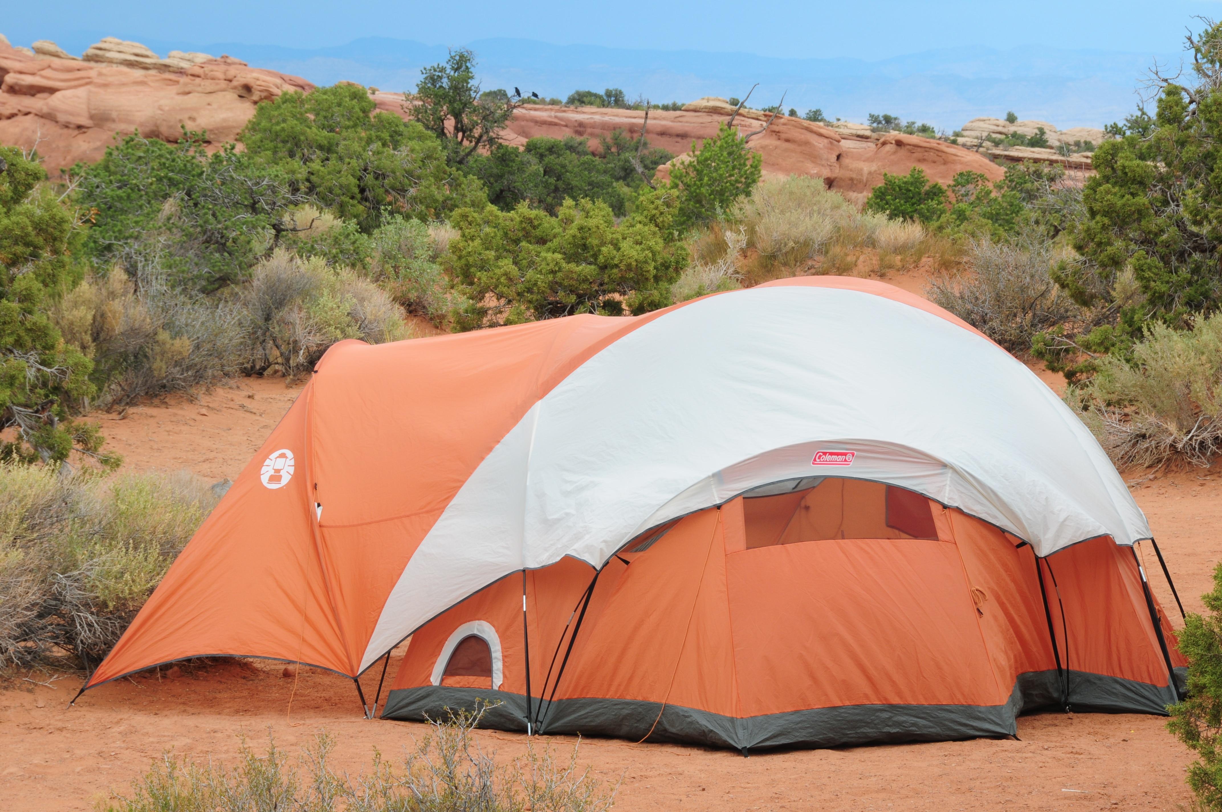 אוהל גדול ומסורבל