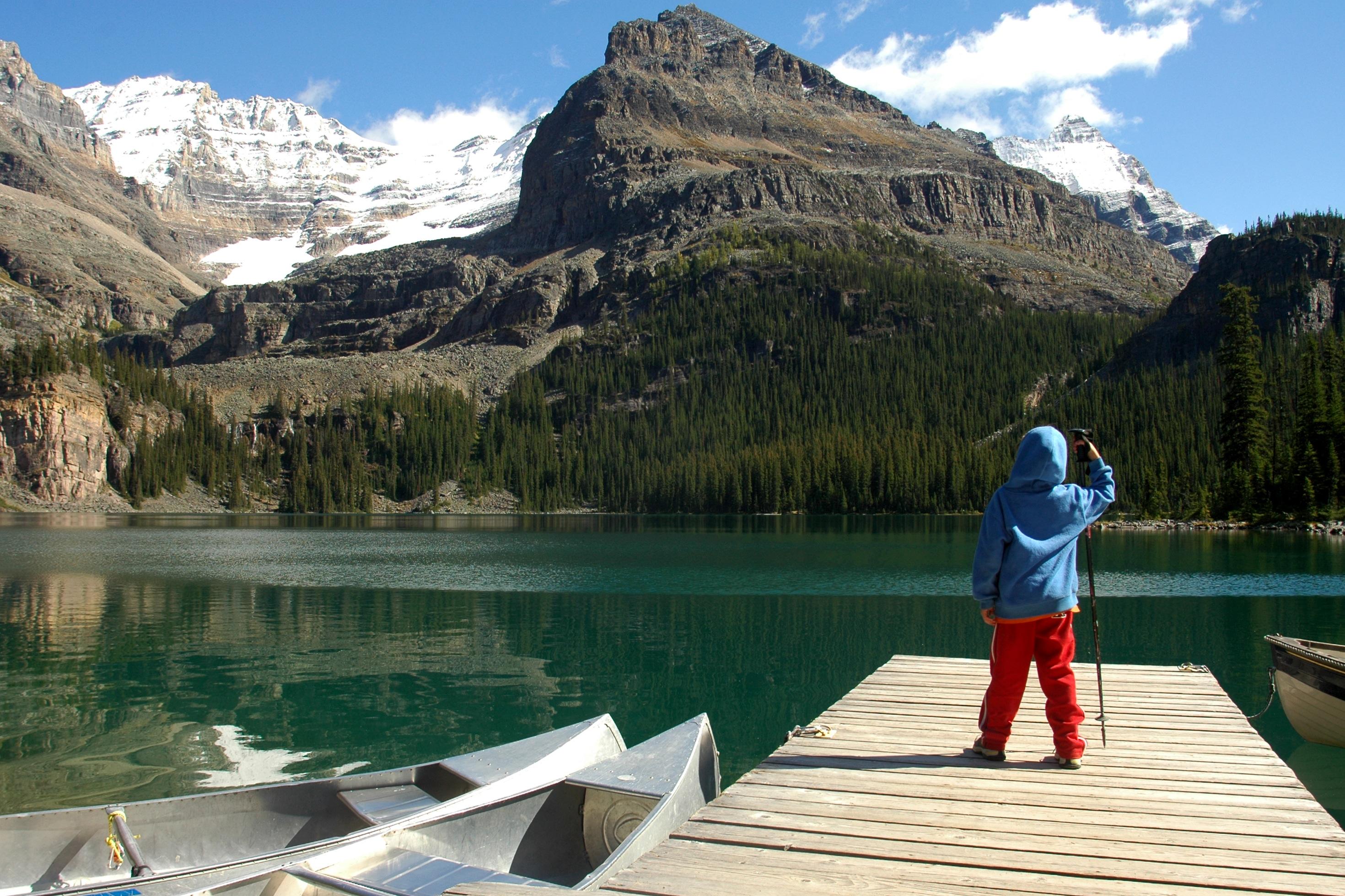 צילומי אנשים וטבע אגם אוהרה