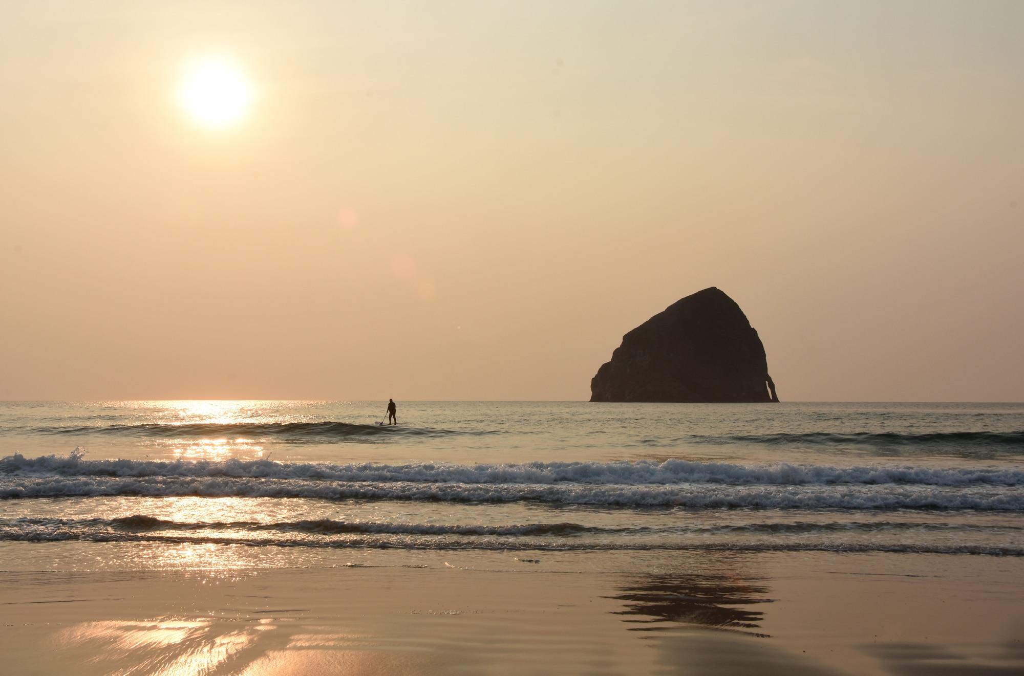 מקומות שהם אנדרייטד חופי אורגון
