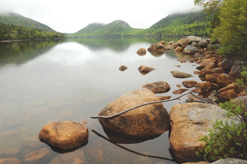 הפארק הלאומי אקדיה - אגם גורדן