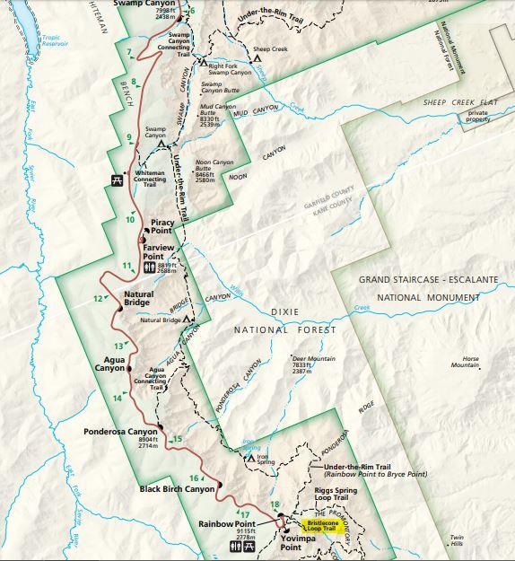 מפה דרום - פארק ברייס